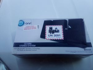 The title is ONN CDM in stereo system for Sale in Linwood, NC