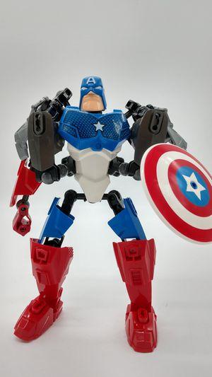 Futuristic Captain America posable action figure for Sale in Chicago, IL