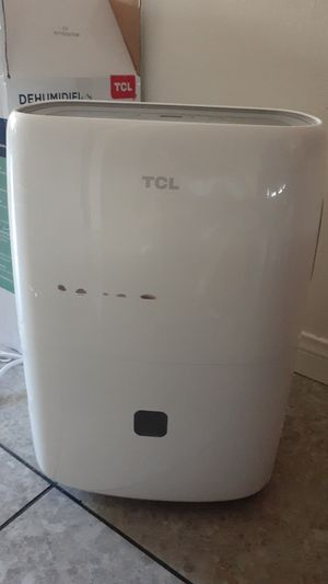 TCL Dehumidifier with warranty for Sale in Fullerton, CA