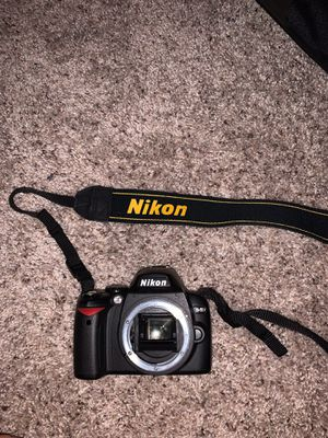 Nikon D40 with camera bag and everything needed for Sale in Spring Hill, FL