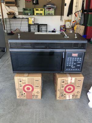 Whirlpool Microhood Microwave for Sale in Kennewick, WA