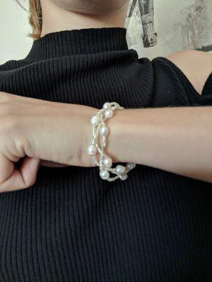 Pearl bracelet for Sale in Augusta, KS