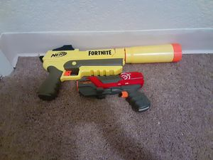 Two nerf guns good condition. for Sale in Moreno Valley, CA