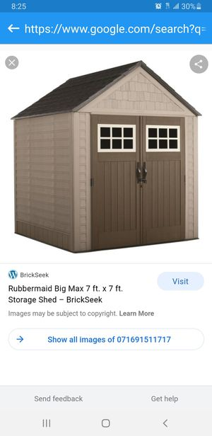 Storage shed Rubbermaid 7x7 for Sale in Los Angeles, CA