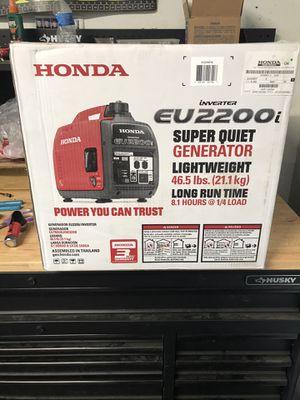 Honda eu2200i generator for Sale in Nuevo, CA