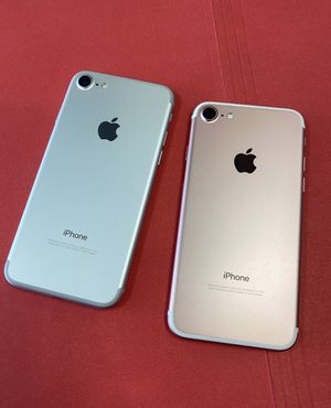 iPhone 7 32GB AT&T and Cricket Only Excellent Condition$175 each for Sale in Cary, NC
