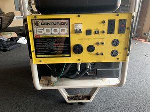 Centurion 15000 watt generator for Sale in Pompano Beach, FL