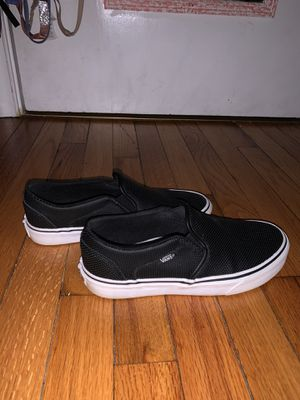 Black vans size 8 (women's) for Sale in Reading, PA