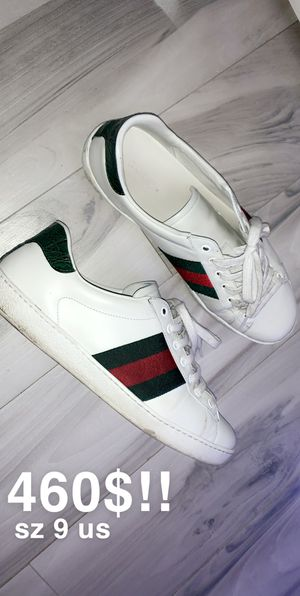GUCCI ACE SNEAKERS SIZE SZ 9 US for Sale in San Jose, CA