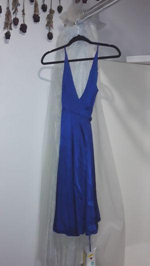 Satin wrap dress for Sale in Norfolk, VA