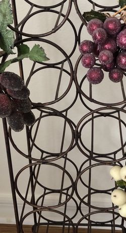 Metal Wine Rack for Sale in Ocala,  FL