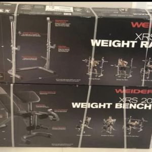 BRAND NEW WEIGHT RACK AND BENCH for Sale in Palm Beach, FL