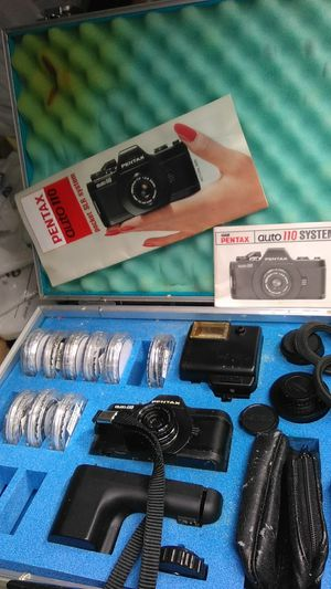 Pentax auto 110 camera kit for Sale in Zephyrhills, FL