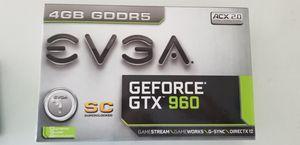 EVGA GTX 960 SC 4GB for Sale in Las Vegas, NV