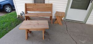 Handmade Bench & Tables for Sale in Valley Center, KS