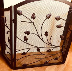 Beautiful metal art fireplace screen for Sale in Chandler, AZ