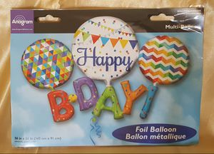 Happy Birthday Balloon for Sale in Patterson, CA