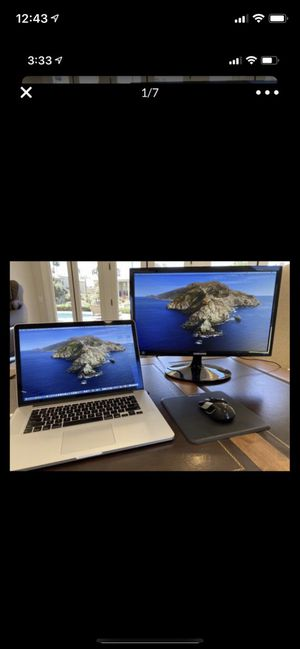 Samsung Laptop External Monitor for Sale in Scottsdale, AZ