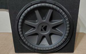"Brand new 15"" Kicker Comp VX 2000 Watt sub for Sale in Little Elm, TX"