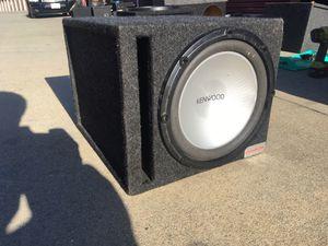 12in KENWOOD SUBWOOFER 1000 watts for Sale in Hayward, CA