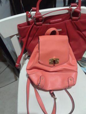Nine West purse,Merona backpack,Neiman Marcus handbag$13.00 cash only for Sale in Dallas, TX