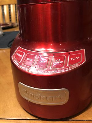 Red Cuisinart Blender for Sale in Perris, CA