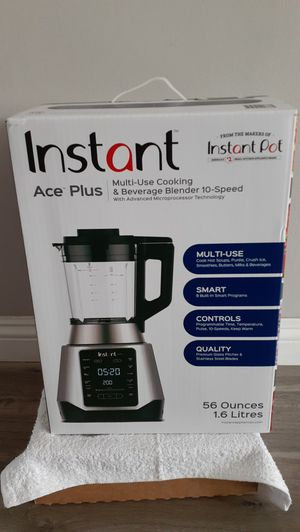 Instant Pot Ace Plus Multi-Use Cooking & Beverage Blender New (Price is Firm) for Sale in Gardena, CA