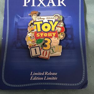 DISNEY PIXAR TOY STORY 3 10TH ANNIVERSARY PIN for Sale in Orlando, FL