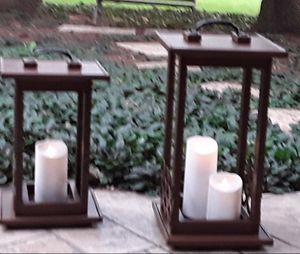 ** wooden ..hand made..Candle holders** for Sale in Clinton Township, MI