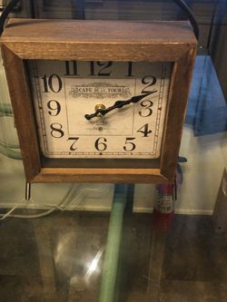 1927 Cafe De La Tour Paris France Clock for Sale in Palm City,  FL