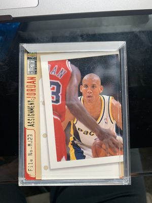 Michael Jordan Basketball Card Authentic for Sale in US