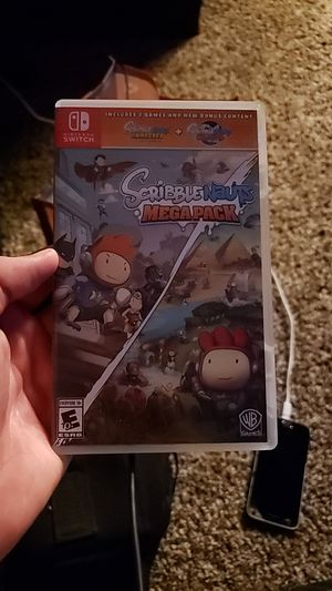 Scribble nauts mega pack Nintendo switch for Sale in Swansea, IL