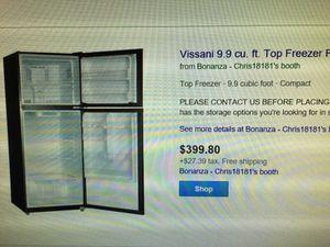 Vissani 9.9 cu ft new for Sale in Las Vegas, NV