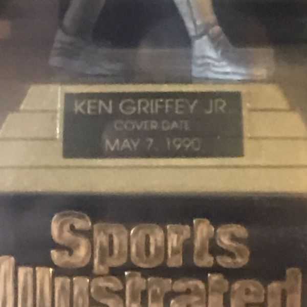 Vintage 1997 KEN GRIFFEY JR Pewter Statue With COA NEW Sports Illustrated Collection