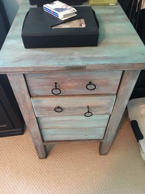 """Antique solid oak 4 drawer cabinet. 28 1/2 """" high, 18"""" wide , 25"""" depth for Sale in Cary, NC"""