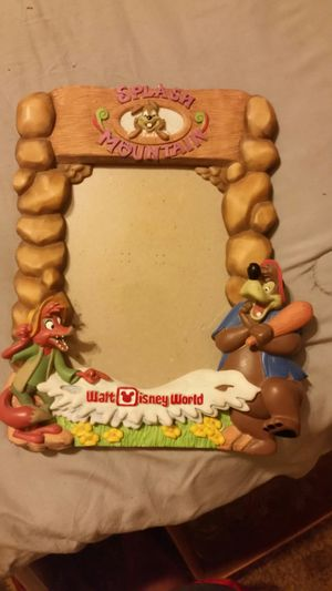 Disney splash mountain picture frame for Sale in Pelzer, SC