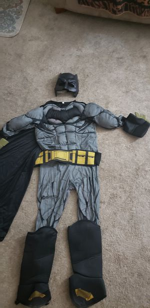 BATMAN COSTUME size 8 _10 for Sale in Las Vegas, NV