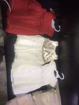 12 mths girl dresses and overalls for Sale in Chicago, IL