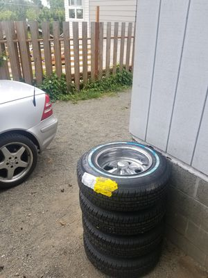 Cragar Supreme rims and tires. for Sale in Seattle, WA