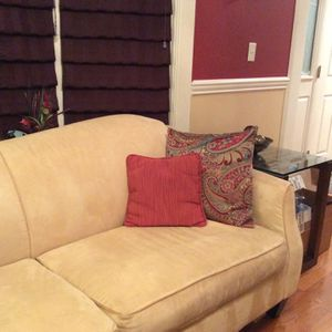 Sofa and Loveseat Cushions Included. for Sale in Paramus, NJ