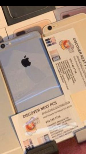 iphone 6 unlocked plus free warranty for Sale in Columbus, OH