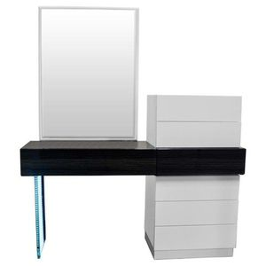 Brand new Never Opened Modern White Lacquer Platform 5-Piece Bedroom Set, Queen for Sale in Alta Loma, CA