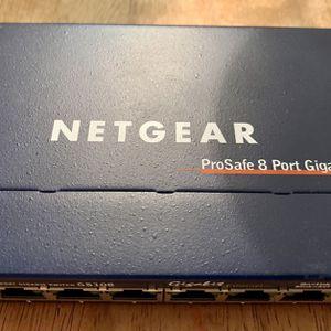 NetGear 8 Port Ethernet Switch Hub for Sale in Orlando, FL
