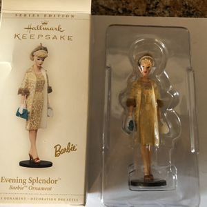 Hallmark Keepsake Ornament Evening Splendor Barbie for Sale in Littleton, CO