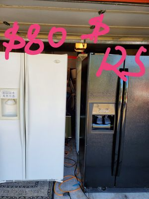 Refrigerators $80 & $125 firm prices for Sale in Tempe, AZ