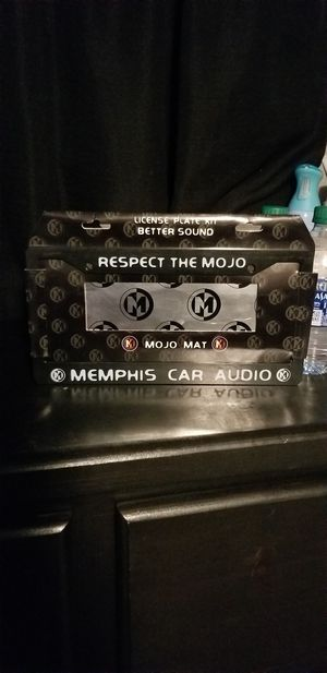 Memphis Licence Plate Cover for Sale in Fresno, CA