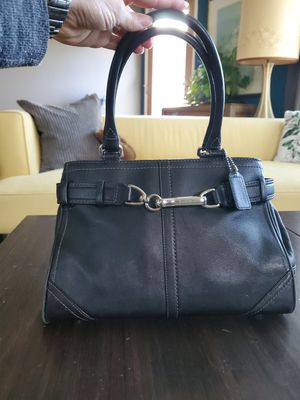Coach Bag -blue leather. Perfect condition. for Sale in Seattle, WA