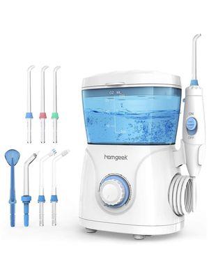 Homgeek Upgrade Water Flosser,Oral Irrigator,Water Pick,Dental Water Flosser,Anti Leakage Water Pick Teeth Cleaner Dental Water Toothpick 10 Adjustab for Sale in Boston, MA