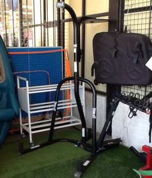 Everlast Heavy Bag Stand with Speed Bag Platform Attachment for Sale in Phoenix, AZ