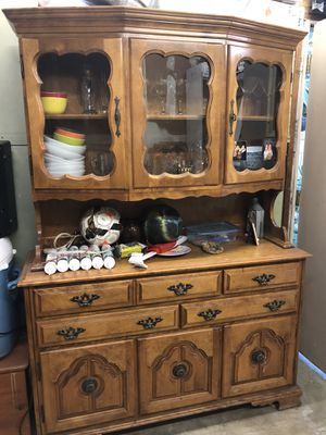 Antique showcase furniture for Sale in Los Angeles, CA